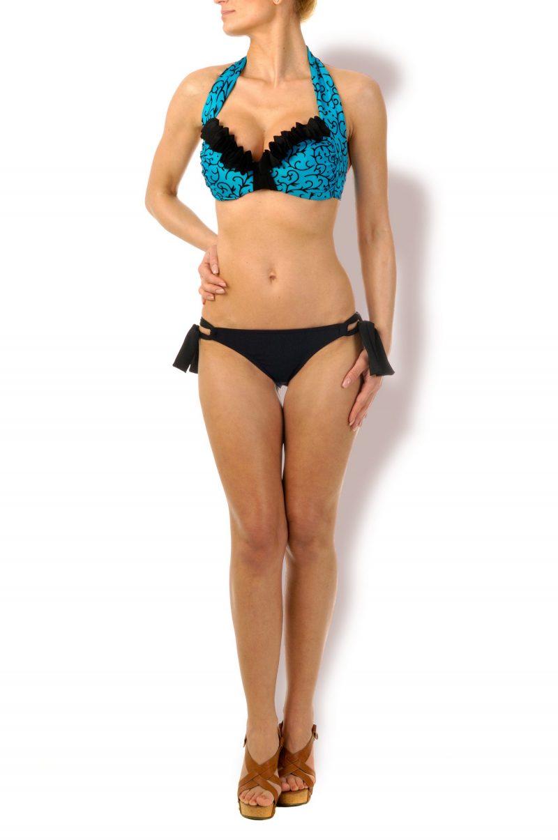 Wonderful  Push-up Bandeau Bikini Ornaments