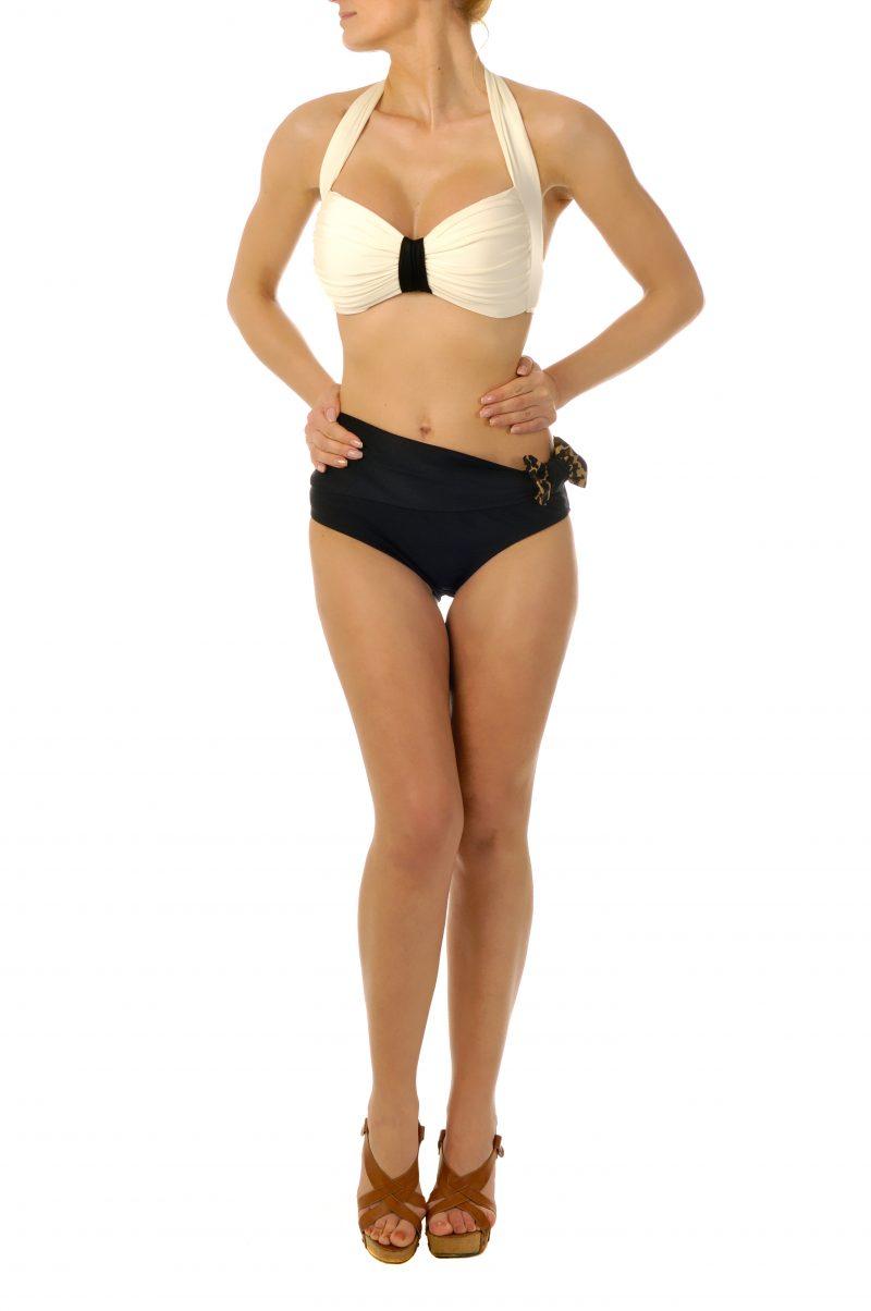 Classy Elegance Push up Bandeau Bikini