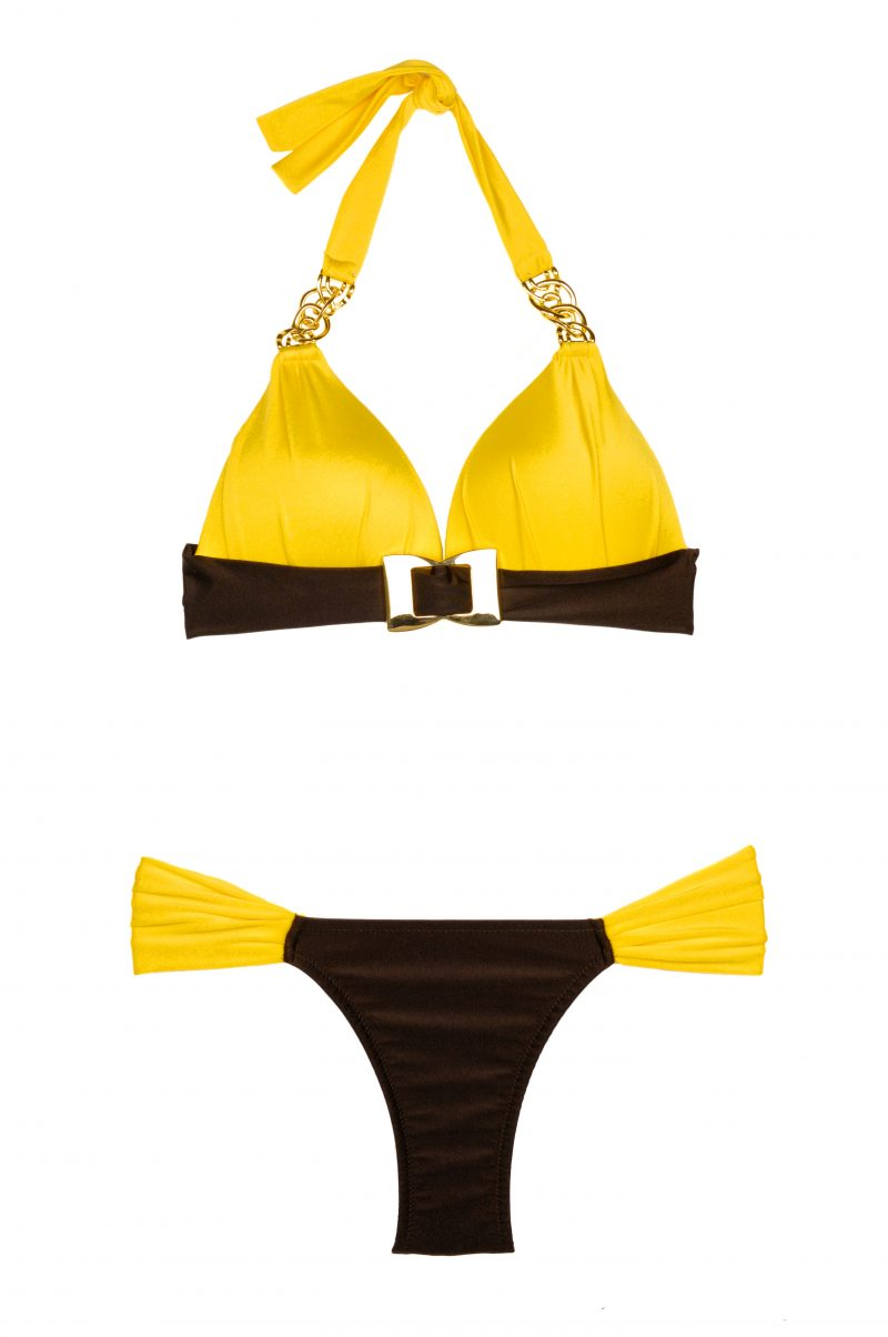 Glamour Citric Push up Triangel Bikini